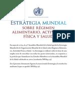11-. Estrategia Mundial sobre Alimentación Saludable, Actividad Física y Salud.pdf
