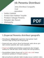 4. Faktor Biotik Penentu Distribusi (Lanjut)