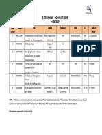 B. Tech Booklist 2018 2nd Intake (1)