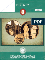 8th Class History Book Punjab Curriculum and Textbook Board Lahore