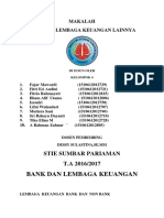 Makalah Bank Dan Lembaga Keuangan