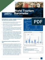 UNWTO Barometer 2018 June Edition Excerpt