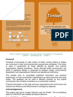 Timber Guide Planning Use Procurement