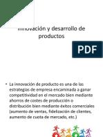 Innovación y Desarrollo de Productos