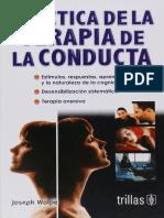 Wolpe. Práctica de la terapia de conducta.pdf