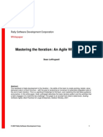 Mastering the Iteration an Agile White Paper[1]