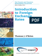 Foreign Exchange Rates, Introduction To