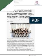 A Urbino i corsi estivi della Bolshoi Ballett Academy - Pesarourbinonotizie.it, 28 giugno 2018
