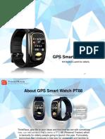 GPS locator for elderly PT88 – An essential smart wearable for elders