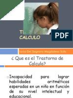 TRASTORNO de CALCULO. Lucia Del Sagrario Magdaleno Solis