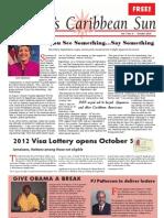 Florida Caribbean Sun OCTOBER 2010 Edition