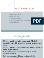 Cache Memory Mapping