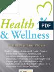 Wellness Powerpoint