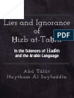 Lie and Ignorance of Hizbut-Tahreer in the Sciences of Hadeeth and the Arabic Language