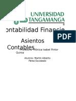 ASIENTOS CONTABLES