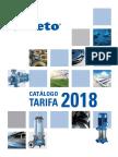 201806 Veneto Catálogo Tarifa 2018