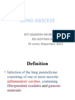 Lung Abscess_lecture 2015
