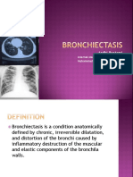 Dr. Ardhi BRONCHIECTASIS Slide Ajar