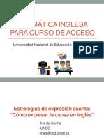 4.1. Cómo Expresar La Causa en Inglés