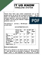 Feb 09 Ash Handling System
