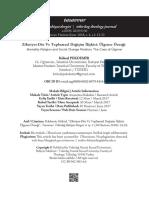 Zihniyet-Din Ve Toplumsal Değişim İlişkisi Ülgener Örneği = Mentality-Religion and Social Change Relation