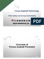 Japanese Porous AsphaltTechnology