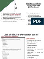 Caso Estudio Demolición Proyecto Barcelona