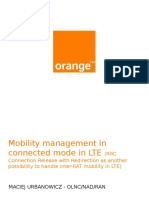 5 - First LTE Mobility Management in Connected Mode in Moldova - Maciek Urbanowicz - NAD