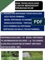 Pertanian Tekno Ekologis 1