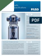 FARO ION Laser Tracker Tech Sheet