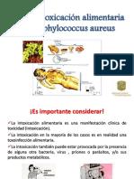 Posible Intoxicación Alimentaria Por Staphylococcus Aureus