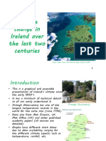 Climate Change in Ireland Over the Last Two Centuries