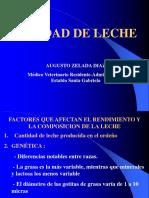 Factores q Afectan La Produccion de Leche