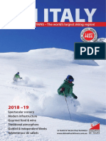 Dolomites Ski Tours brochure 2018-19
