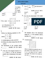 WPP - Linear Algebra