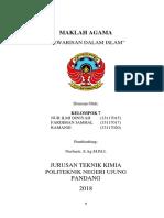 Article of Islamic Religion