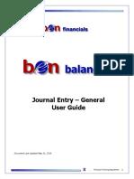 MJE Manual