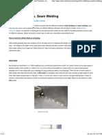 Stitch Welding vs. Seam Welding _ Vista Industrial Products, Inc