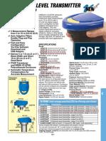 LVU2700 - LVU2726 Sensor Ultrassonico Caixa Dagua