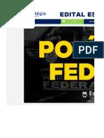 Edital Estrategico - Agente PF