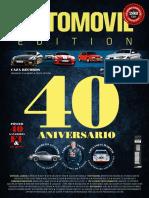 Automovil España - Abril 2018