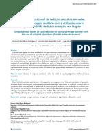 Modelo Computacional de Redução de Custos Em Redes Coletoras de Esgoto Sanitário Com a Utilização de Um Algoritmo Híbrido