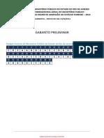 Mprj Estagio Gabarito Preliminar