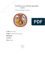 Universida Nacional San Antonio Abad Del Cusco