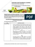 Rashtriya Chemicals and Fertilizers Recruitment 2018