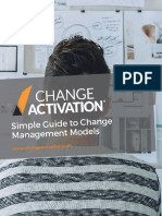 Change Activation Guide to Change Management Models
