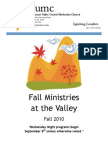 Fall Activities 2010 - Complete