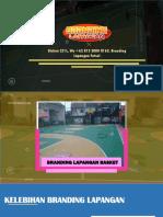 Diskon 25%, Wa +62 813 2000 8163, Branding Lapangan Futsal