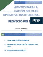 LINEAMIENTOS PARA el PLAN OPERATIVO INSTITUCIONAL - HUANUCO.pptx