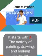 Skip the Word